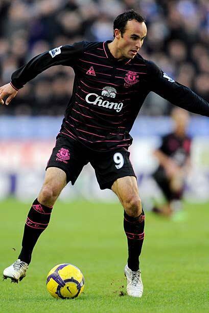 El Everton de Landon Donovan derrotó 1-0 al Wigan del técnico español Ro...