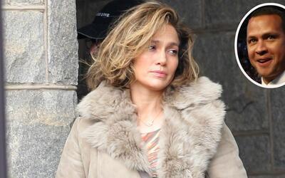 Jennifer López filma su nueva película en Nueva York mient...