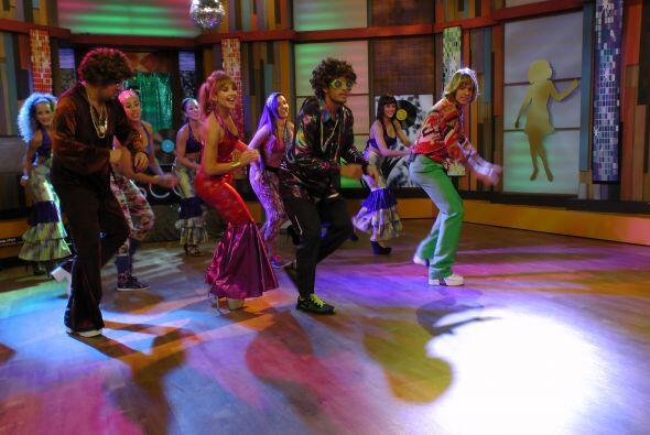 ¡La pista de baile estuvo más candente que nunca!
