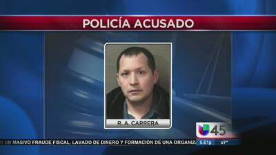 Policía acusado de tener relaciones con una menor de 15 años