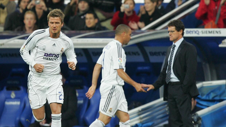 Ronaldo y Capello