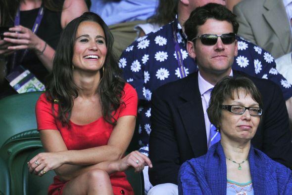 Dos días antes, su hermana, Kate, estuvo con su esposo, el príncipe Will...