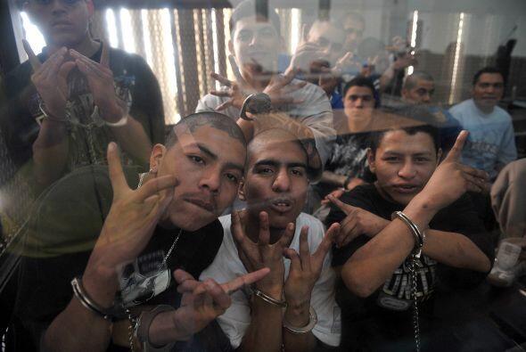Un grupo de 24 pandilleros fueron condenados a 47 años de c&aacut...