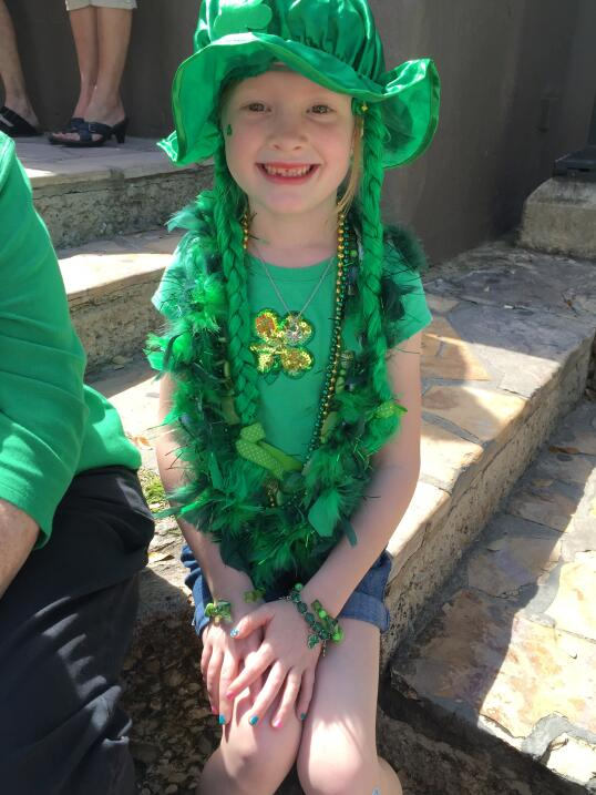 The River Walk is going green for St. Patrick's Day 073.JPG