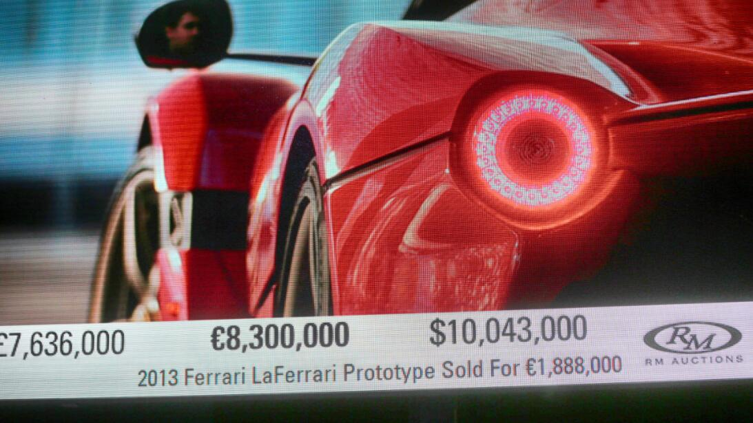¡Ferrari LaFerrari Aperta subastado por 10 millones de dólares! ferrari...