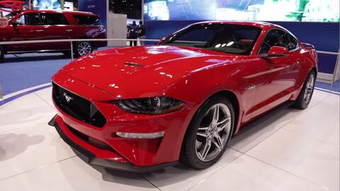 El Ford Mustang 2018 hace su aparición durante el Auto Show de Chicago 2017