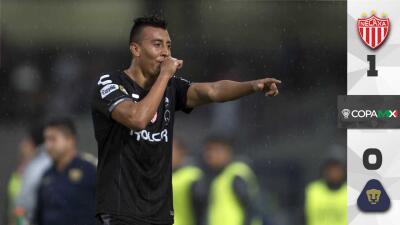 Necaxa avanza en la Copa MX y profundiza la crisis de Pumas