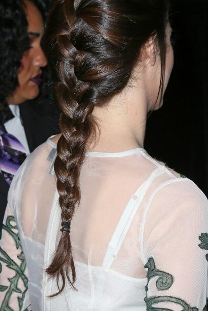 Destaca tu cabellera como Emmy Rossum.
