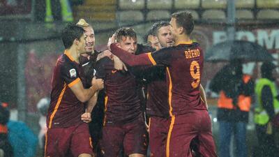 La Roma vence 3-1 al Carpi y se pone tercero en la Serie A