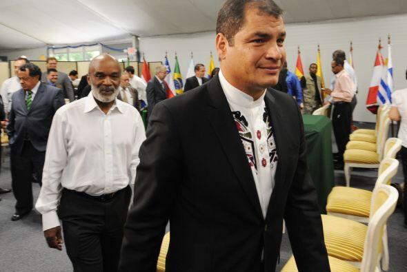 Correa, propuso la creación de una Secretaría regional de gestión de rie...
