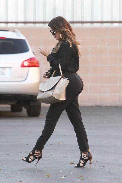 La menor de las Kardashian está cosechando los frutos de su disciplina y...