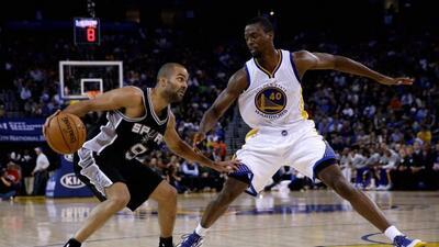 Los Spurs de San Antonio vencieron como visitantes a los Warriors de Gol...