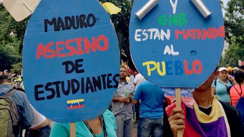 Símbolos de la protesta