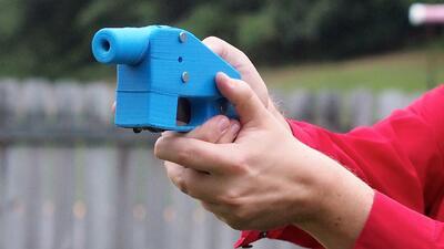 Juez extiende la prohibición de publicar instrucciones para imprimir armas en 3D