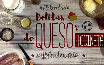 Bolitas de queso y tocineta #UDCentenario (video)
