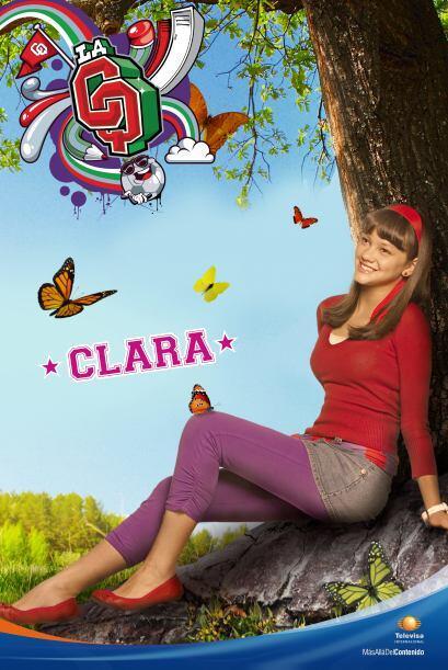 Clara Licona es la nueva. Es dulce y cariñosa, y está eternamente enamor...