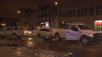 Varias personas resultan heridas luego de un múltiple accidente de tránsito en el sur de Chicago