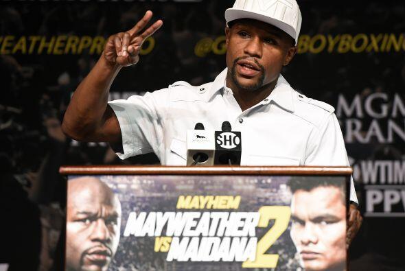 """""""La primera pelea fue emocionante, espero que esta sea igual. Él se mere..."""