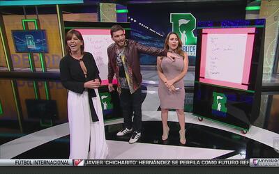 Juego del Basta: La actriz María Fernanda Yépez se enfrentó a Lindsay Ca...