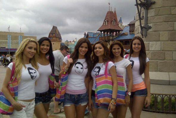 Audris, Odaray, Bárbara Turbay, Marina, Essined y Viviana compartieron u...