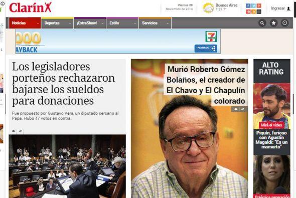 El Clarín de España.