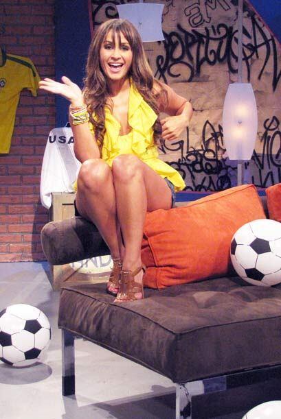 Para consentir a Carlitos, Melissa puso el toque mundialista con varios...