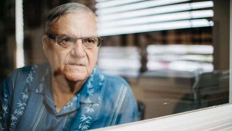 Sheriff Joe Arpaio during a recent interview in his private office in Fo...