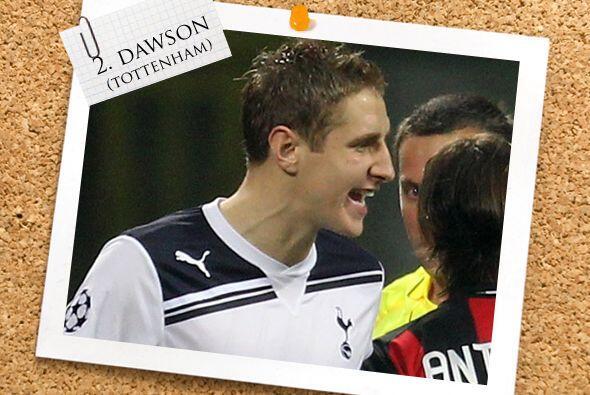 La zaga comienza con el inglés Michael Dawson, también del Tottenham.