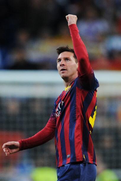 Messi (9): Marcó tres de los cuatro goles de su equipo, dos de penalti....
