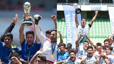 Tigres y Santos se coronaron en categorías inferiores de Liga MX