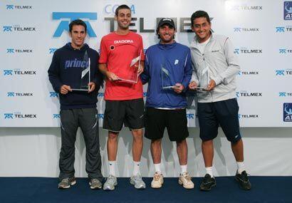 La pareja ibérica derrotó en la final a sus compatriotas Nicolás Almagro...