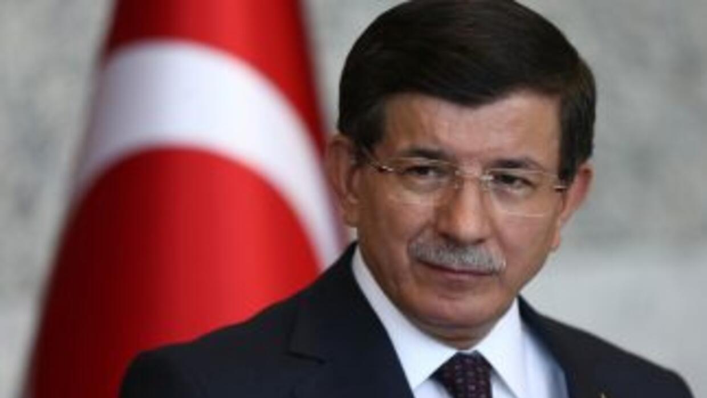 El primer ministro turco, Ahmet Davutoglu.