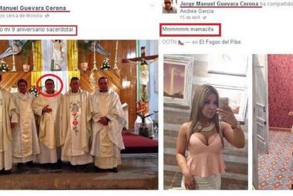 En uno de las publicaciones en su cuenta de Facebook el sacerdote escrib...