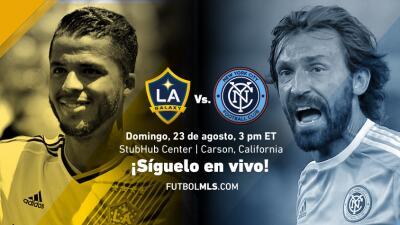 Sigue en vivo por Centro de Juegos LA Galaxy vs New York City FC