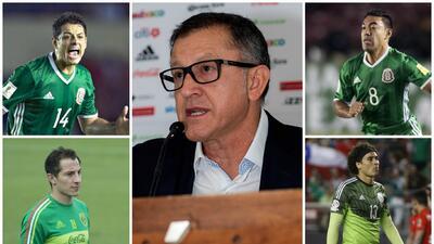 Los 76 jugadores que ha convocado Osorio al Tri en su mandato