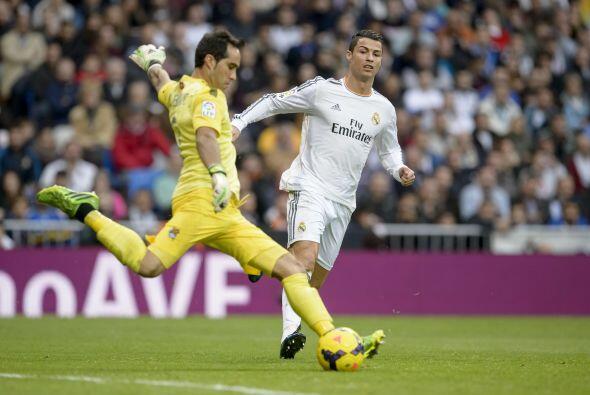 La presión del portugués tuvo premio al final.