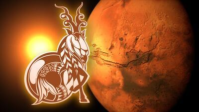 Marte Capricornio