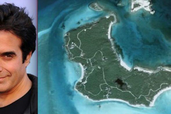 Musha Cay, Bahamas parece ser el sitio escogido por el famoso mago David...