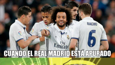 Real Madrid recuperó el liderato de La Liga y así lo vivieron los memes