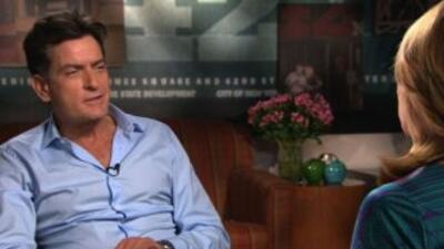 María Elena Salinas tuvo una entrevista con Charlie Sheen, donde habla s...