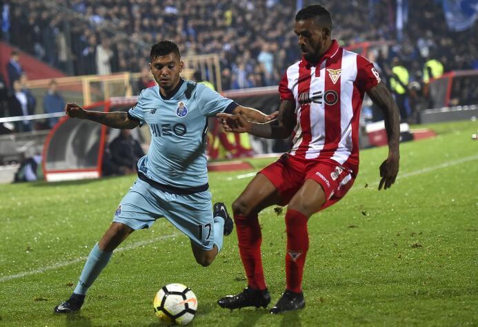 Desportivo Aves 1-[1] Porto: con Jesús Corona y Héctor Herrera de titula...