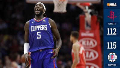 La banca de los Clippers opaca a James Harden y los Rockets