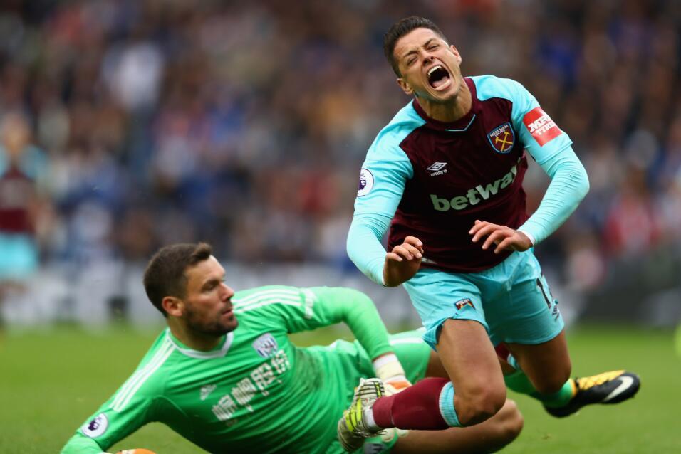 'Chicharito' y el West Ham sacan un punto en su visita al West Bromwich...