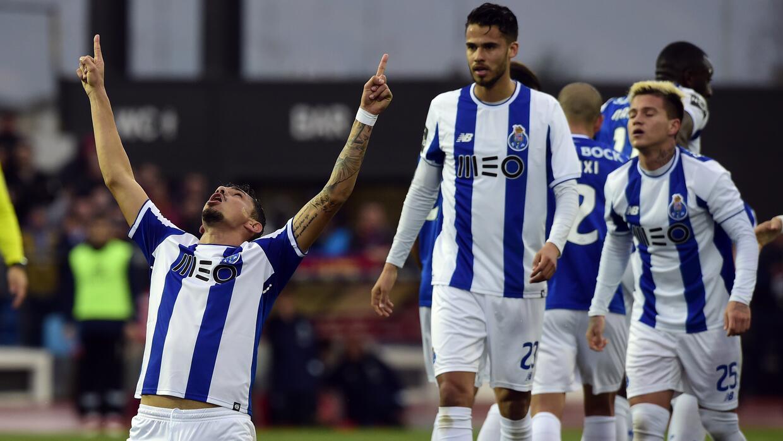 En fotos: Doblete de Raúl Jiménez le da los tres puntos al Benfica gol-s...