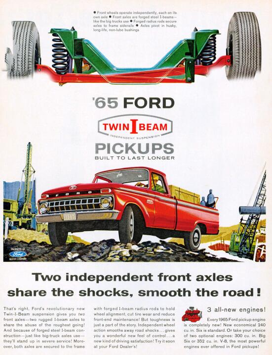 La camioneta pickup cumple su primer siglo 1965-Twin-I-Beam-Ad_SP.jpg