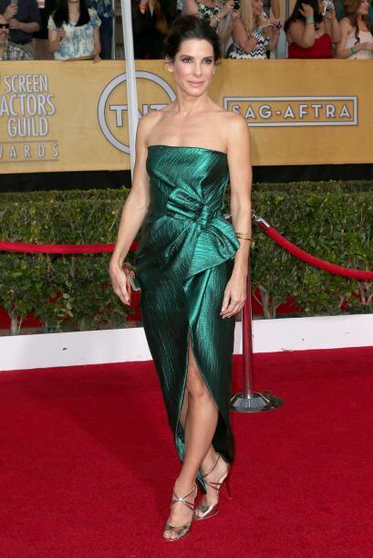 Creemos que Sandra Bullock hizo caso a todas las críticas y se esforzó p...
