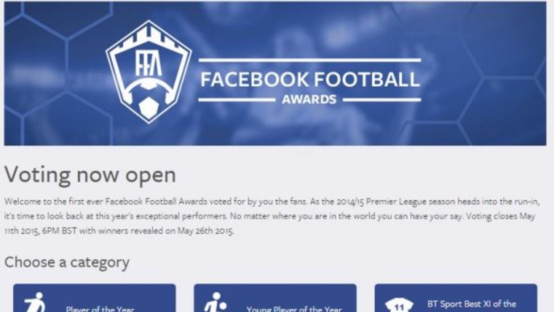 Facebook premiará a lo mejor de la Premier League.