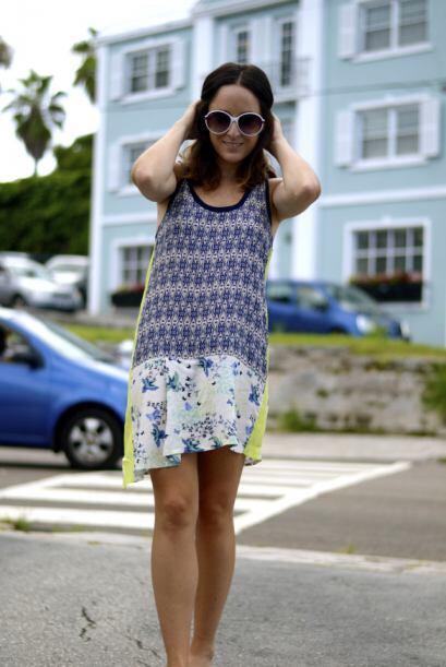 Definitivamente un vestido ligero con estampados es buena opción...
