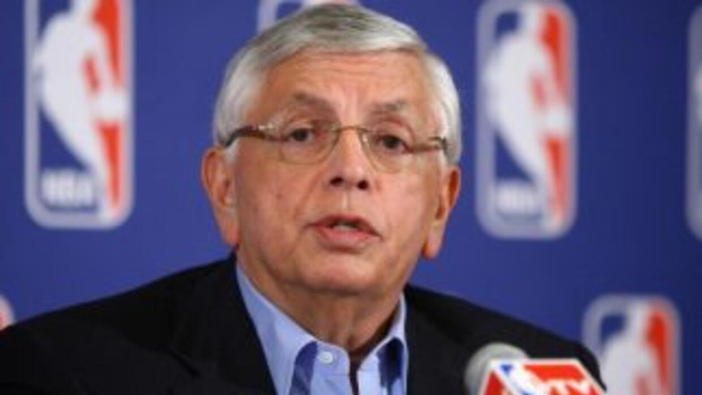 David Stern, Comisionado de la NBA.