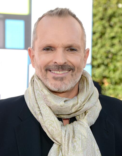Recording artist Miguel Bose attends the 2016 Latin American Music Award...